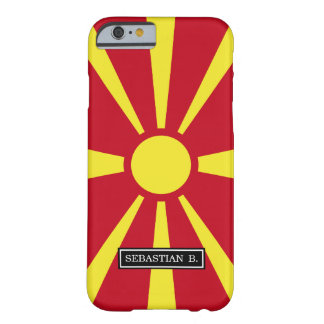 Macedonia Flag Barely There iPhone 6 Case