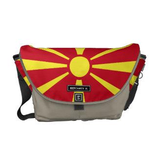 Macedonia Flag Courier Bag
