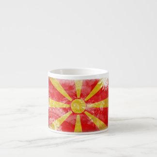 Macedonia Flag Espresso Cup
