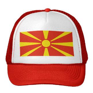 Macedonia Flag Hat