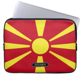Macedonia Flag Laptop Sleeves