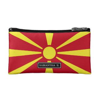 Macedonia Flag Makeup Bag