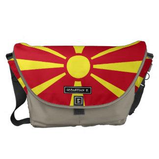 Macedonia Flag Messenger Bag