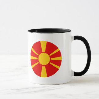 Macedonia Flag Mug