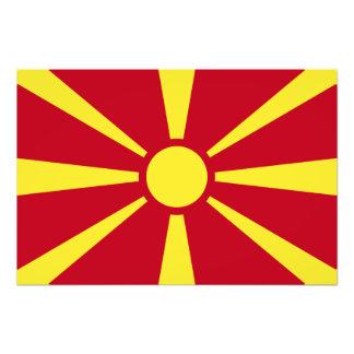 Macedonia Flag Photo
