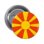 Macedonia Flag Pin