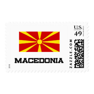 Macedonia Flag Postage