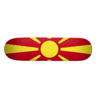 Macedonia Flag Skate Boards