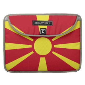 Macedonia Flag Sleeve For MacBook Pro