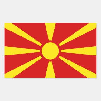 Macedonia Flag Sticker* Rectangular Sticker