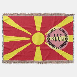 Macedonia Flag Throw