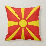Macedonia Flag x Flag Pillow
