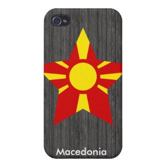 Macedonia iPhone 4/4S Carcasa