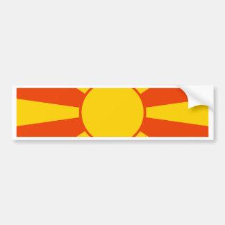 Macedonia High quality Flag Bumper Stickers
