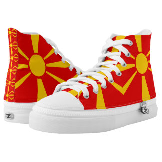 Macedonia High-Top Sneakers