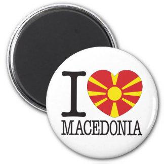 Macedonia Love v2 2 Inch Round Magnet