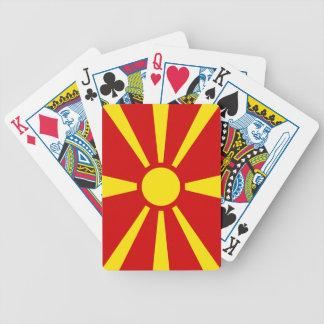 Macedonia – Macedonian Flag Bicycle Playing Cards