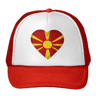 Macedonia Macedonian Flag Trucker Hat