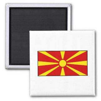 Macedonia – Macedonian Flag Magnet
