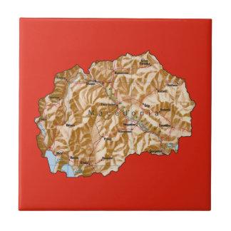 Macedonia Map Tile