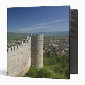 MACEDONIA, Ohrid. Car Samoil's Castle / 3 Ring Binder
