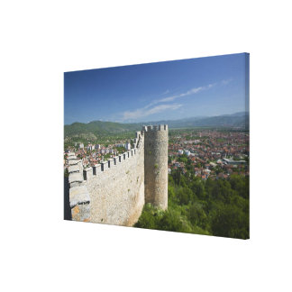 MACEDONIA, Ohrid. Car Samoil's Castle / Stretched Canvas Prints