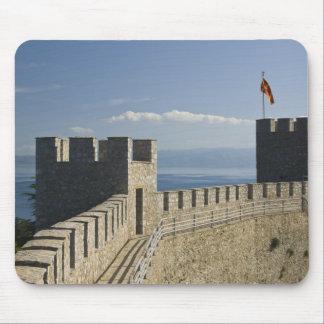 MACEDONIA, Ohrid. Car Samoil's Castle - Castle 2 Mouse Pad