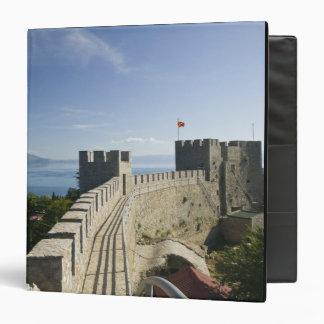 MACEDONIA, Ohrid. Car Samoil's Castle - Castle 3 Ring Binder