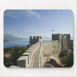 MACEDONIA, Ohrid. Car Samoil's Castle - Castle Mouse Pad