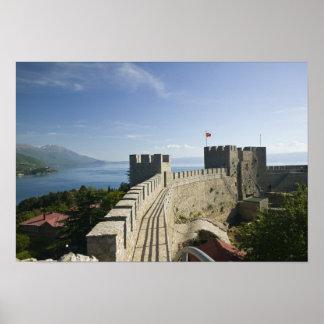 MACEDONIA, Ohrid. Car Samoil's Castle - Castle Poster