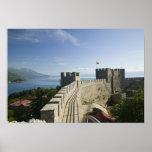 MACEDONIA, Ohrid. El castillo de Samoil del coche  Impresiones