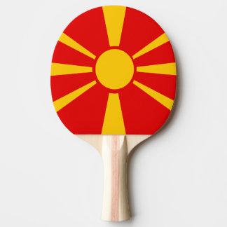 Macedonia Ping-Pong Paddle