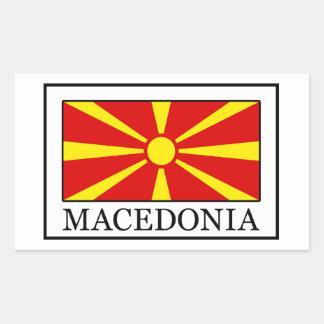 Macedonia Rectangular Sticker