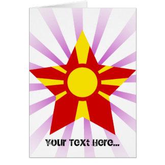 Macedonia Star Card