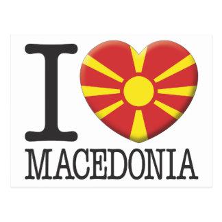 Macedonia Tarjeta Postal