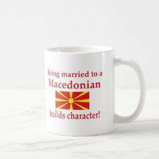 Macedonian Builds Character Coffee Mug