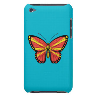 Macedonian Butterfly Flag iPod Touch Covers