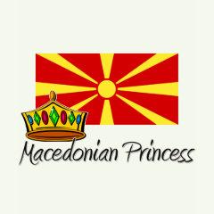 macedonian princess t-shirts