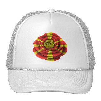 Macedonian Rose Flag Trucker Hat