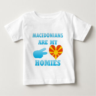 Macedonians are my Homies Baby T-Shirt