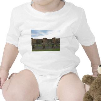 Macellum (Markets) in Ancient Pompeii Baby Bodysuit