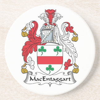 MacEntaggart Family Crest Beverage Coasters