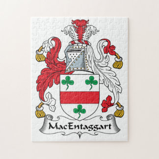 MacEntaggart Family Crest Puzzles