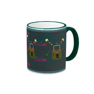 maceta del cubo: D Taza De Dos Colores