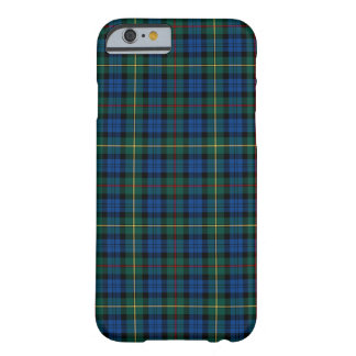 MacEwan Clan Royal Blue and Green Tartan Barely There iPhone 6 Case
