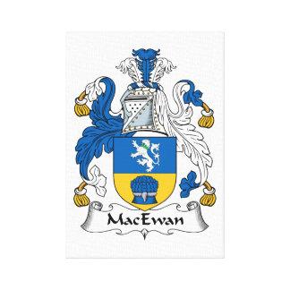 MacEwan Family Crest Canvas Print