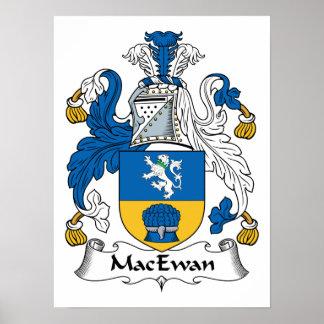 MacEwan Family Crest Poster