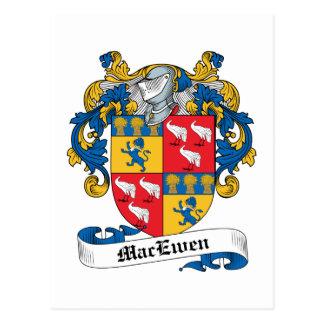 MacEwen Family Crest Postcard