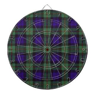 MacEwen Scottish Tartan Dart Board