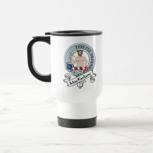MacFarlane Clan Badge Travel Mug